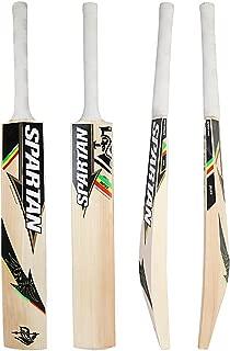 SPARTAN CG The Boss Grade 1 English Willow Cricket Bat, Full Size SH (Handle Color May Vary)