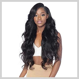 Human Hair Wigs, VIPbeauty Brazilian Body Wave Human Hair Lace Front Wigs for Black Women 130% Density Glueless Wavy Lace Frontal Wig Pre Plucked with Baby Hair(20