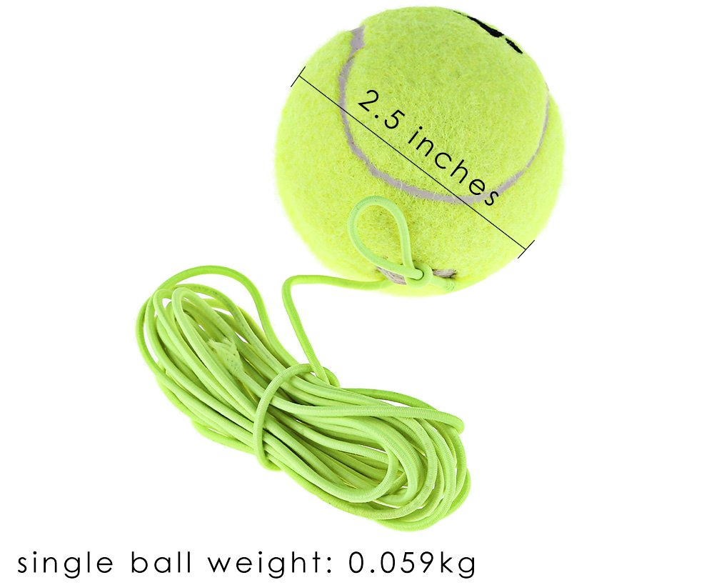 Drill entrenador de tenis pelota de tenis de resistencia con bola ...