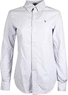 Ralph Lauren Womens Oxford Classic Fit Button Down Shirt