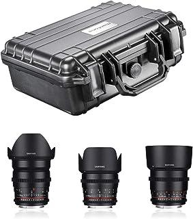 Samyang videolens - DSLR basic set Canon EF zwart