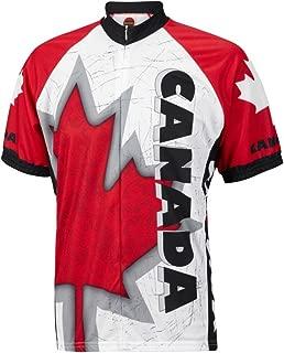 World Jerseys Canada Maple Leaf Men's Cycling Jersey