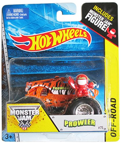 Hot Wheels Off-Road Monster Jam Prowler #75 - Includes Monster Jam Figure! by Hot Wheels