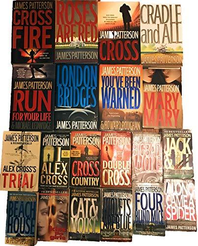 Alex Cross Series Set Books 1-20 by…