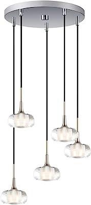 10 x 10 x 121 10 x 10 x 121 HI-Lite Source Lite Source LS-14463PS//CLR 3-Lite Pendant Lamp