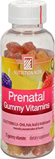 Nutrition Now Vitamin Adult Gummy Prenatal, 75 ct