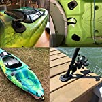 Borogo Kayak Deck Flush Mount, 2 Pack Fishing Boat Rod Holders and Cap Cover for Kayak, Fishing Boat, Canoe and Fishing…