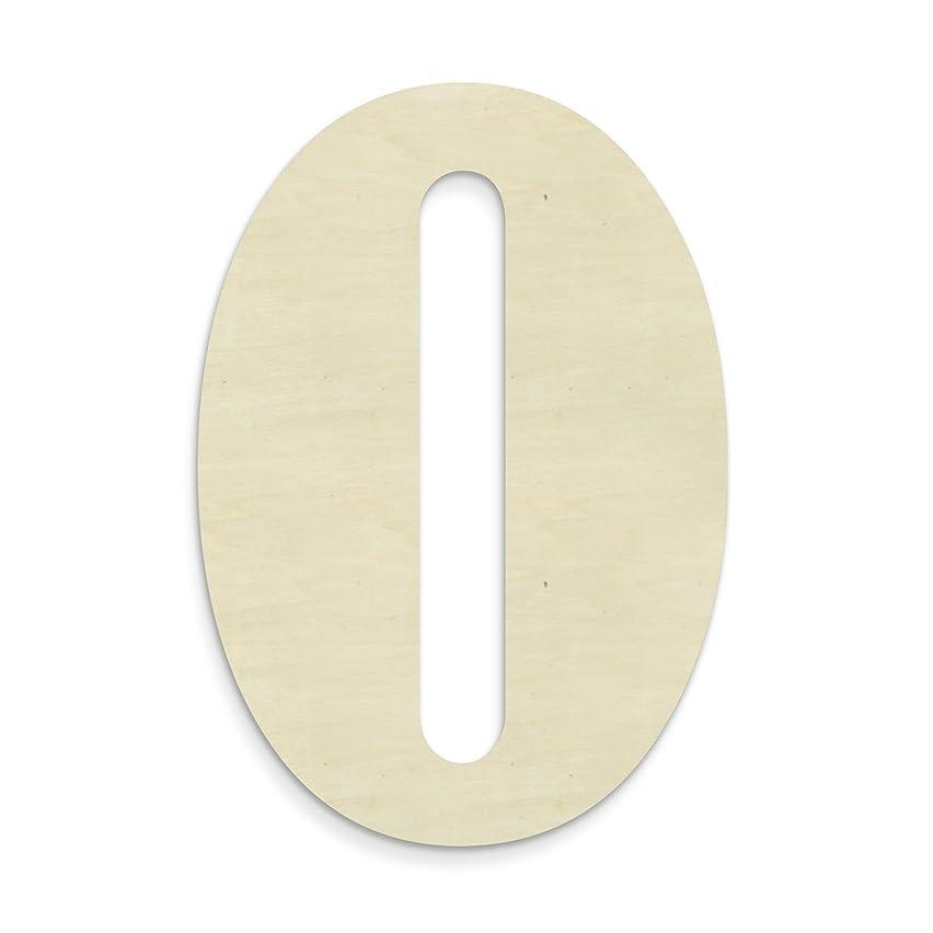 UNFINISHEDWOODCO 23-Inch Unfinished Wood Letter, Large, Letter O