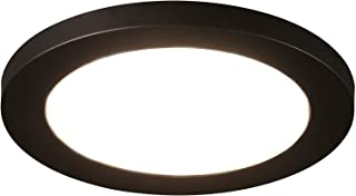 Cloudy Bay 12 inch Ceiling Light LED Flush Mount,17W Dimmable,5000K Day Light,1100lm 120W Incandescent Equivalent,Oil Rubbed Bronze Finish