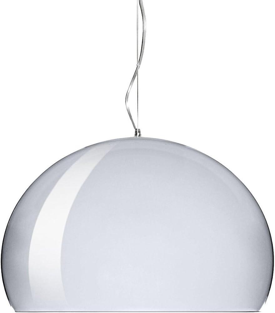 Kartell big fl/y lampada a sospensione, cromato lucido 09095XX