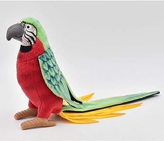 HANSA Parrot Plush, Red/Green