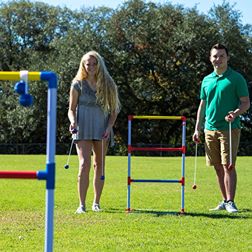 Champion Sports Deluxe Outdoor Ladder Ball Game: Backyard Party, Camping