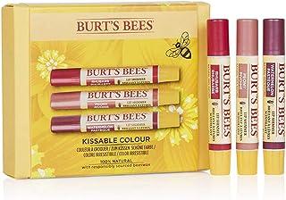 Burt's Bees Set Hidratante De Regalo 100% Natural Kissable Colour De Burt'S Bees Compuesto Por 3 Brillos Labiales De Sand...