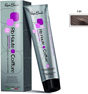 Renee Blanche Professional Hair Color - 7.01 Ash Blond, 100 ml