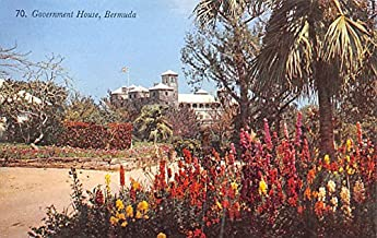Government House Bermuda, Somers Isles Postcard
