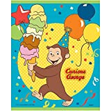 Unique Curious George Party Loot Bags, 8 Ct.
