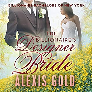 The Billionaire's Designer Bride audiobook cover art
