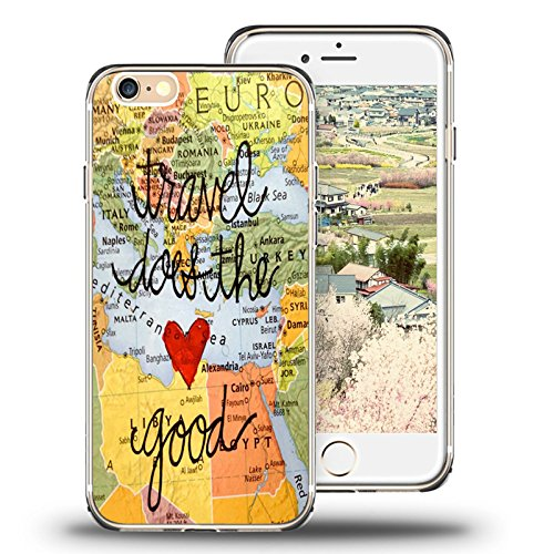 World Map Iphone 6s Case.Iphone 6s Case Map Amazon Com