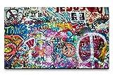 Paul Sinus Art Bilder XXL Bunte John Lennon Wand in Prag