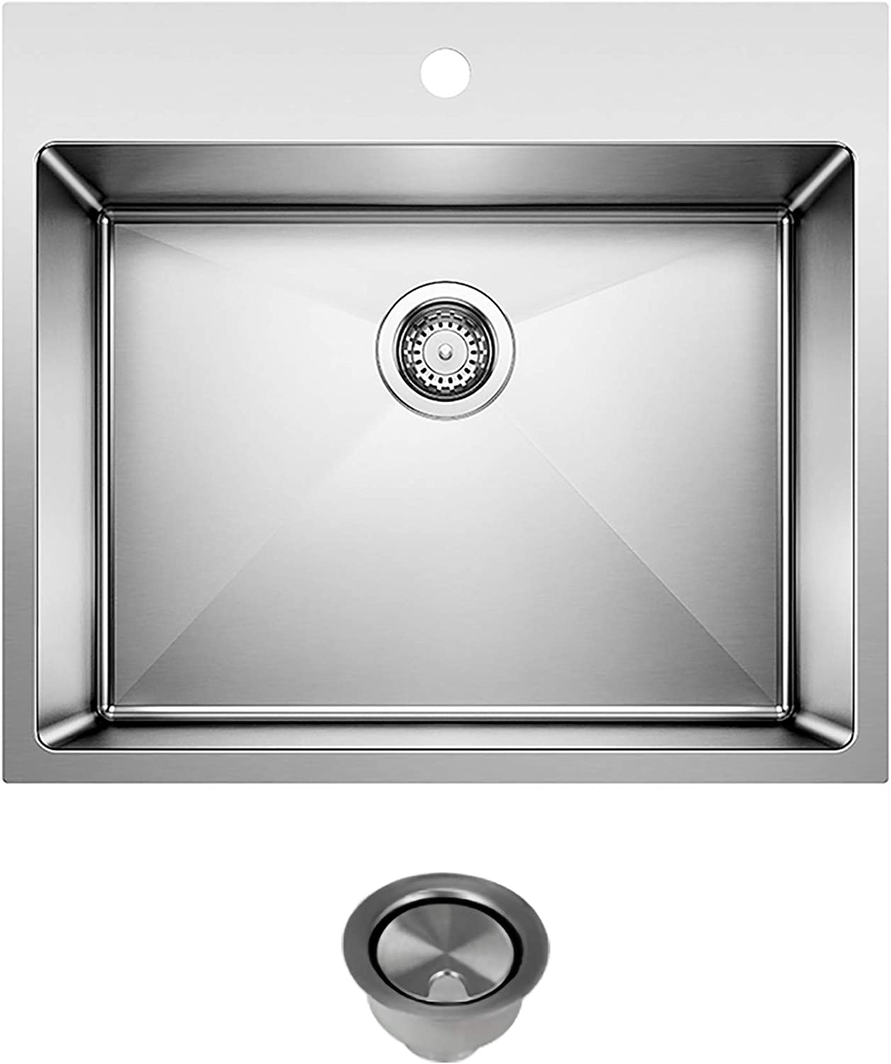 Blanco Free shipping on posting reviews K-522136 Quatrus Laundry Sink Stainless Strainer in with trend rank