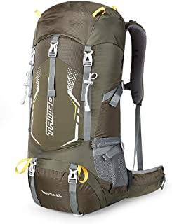 Outdoor Mountaineering Bag Multi-Function Travel Backpack Hiking Camping Backpack Large Capacity Adjustable Carrying System ZHJDD