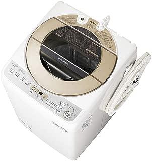 シャープ 洗濯機 穴なし槽 インバーター搭載 ゴールド系 9kg ES-GV9D-N