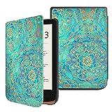 FINTIE Funda Compatible con Pocketbook Touch HD 3/Touch Lux 4/Basic Lux 2/Color (2020) e-Book Reader de 6'- Súper Delgada y Ligera Carcasa con Auto-Reposo/Activación, Jade