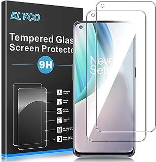 ELYCO [2+3-pack] för Samsung Galaxy M01s skärmskydd + kameralinsskydd, [bubbelfri] 9H hårdhet härdat glas anti-rep/anti-ol...