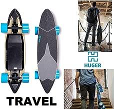 Huger Tech-Racer 2000w / Classic 700w / Travel 1160w Longboard Waterproof Bluetooth Electric Skateboard Fast & Powerful