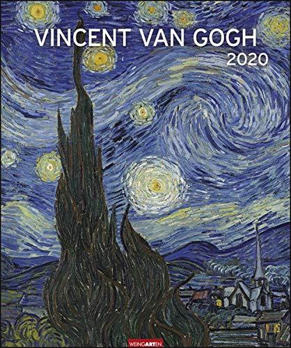 Vincent van Gogh Edition. Wandkalender 2020. Monatskalendarium. Spiralbindung. Format 46 x 55 cm