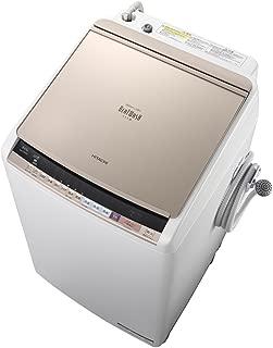 日立 タテ型洗濯乾燥機 ビートウォッシュ 8kg シャンパン BW-DV80B N