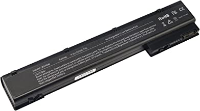 AC Doctor INC Laptop Battery for HP EliteBook 8560w 8570w 8760w 8770w Mobile Workstation, 5200mAh/14.8V/6-Cells
