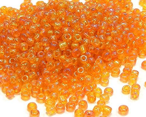 Rocailles A79 - Perlas de Cristal Transparentes (3 mm, 15000 Unidades, para Manualidades)
