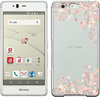 [Breeze-正規品] iPhone ・ スマホケース ポリカーボネイト [透明-Pink] docomo arrows Be F-05J ケース アローズ be F05J カバー 液晶保護フィルム付 全機種対応 [F05J] [F05J1810BA]