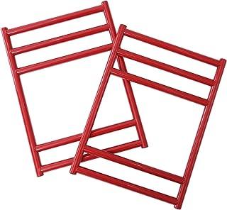 DOD(ディーオーディー) カシスベンチレッグ 2×4木材を差し込むだけで完成するベンチ脚【2個セット】 CL2-543-RD