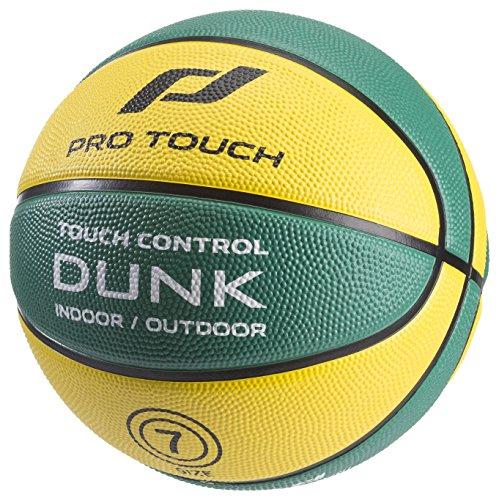 Pro Touch Dunk Basketball, grün/Gelb, 5