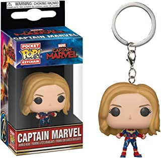 Funko Pocket Pop Keychain - Captain Marvel Unmasked