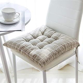 Zuo Juego de Cojines de Asiento de 40 x 40 cm, Cojines for sillas de jardín, balcón, terraza, Farbdreieck, Platz A+ (Color : D, Size : 45CMX45CM)