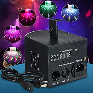 6W Rotating Crystal Magic Ball RGB LED Stage Light Bulb for Disco Party DJ New