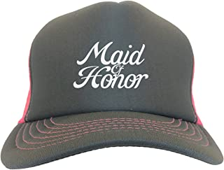 Maid of Honor - Bridal Party Marriage Two Tone Trucker Hat