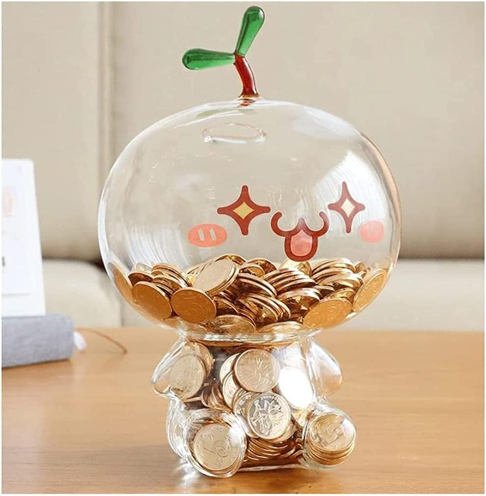 Stainless Stell Piggy Bank Glass M The Heat-Resistant Quality inspection OFFicial shop