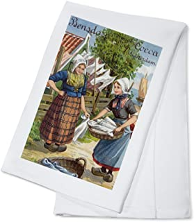 Amsterdam, Netherlands - Bensdorp's Royal Dutch Cocoa (100% Cotton Kitchen Towel)
