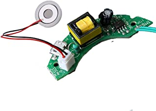 Icstation 5V 16mm Ultrasonic Mist Maker Fogger Ceramic Discs with Power Driver Board for USB Mini Humidifier Repair Replacement Parts