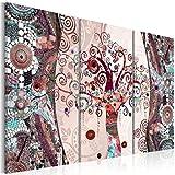 murando - Cuadro en Lienzo 120x80 - Mosaico - Impresión de 3 Piezas Material Tejido...