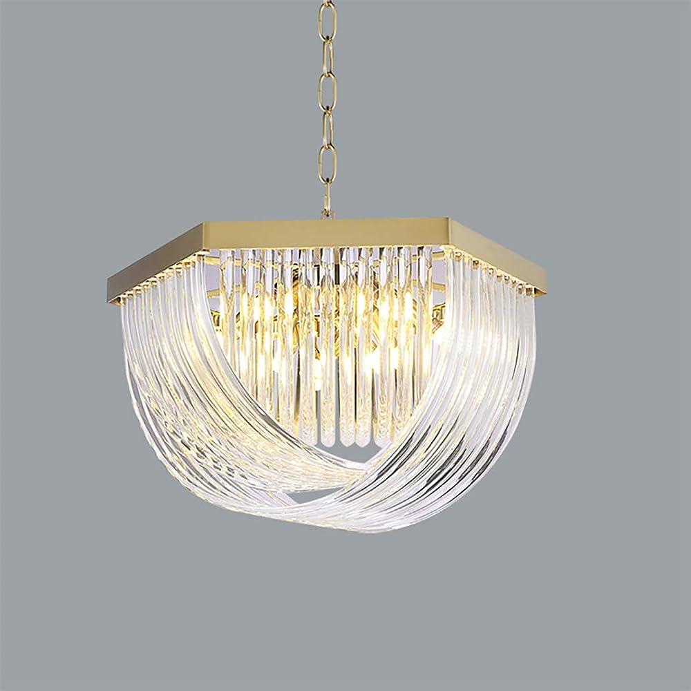 Hhrong luce k9 lampadario in cristallo di cristallo lampada plafoniera sospensione HHRONG002324