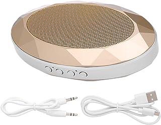 Meterk Portable Bluetooth V4.2+EDR Speaker Diamond-style Subwoofer Stereo Soundbox Support TF Card AUX IN