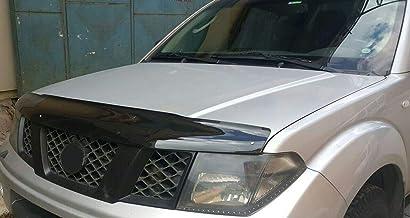 NAVARA (D40) Protector deflector de piedra de viento para capó (2005-2010)