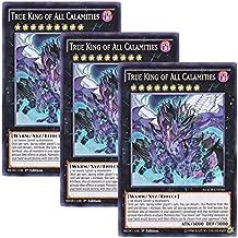 Yu-Gi-Oh! y3 Pieces setz English MACR-EN 046 True King of All Calamities Otodori V.F.D. (Super Rare) 1st Edition