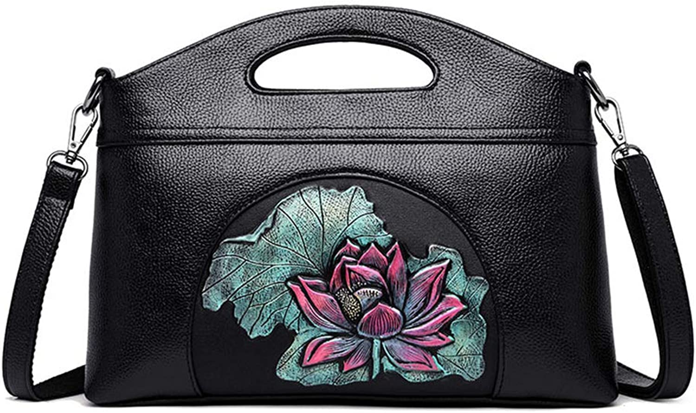 MIFGJ Tasche Weibliche Mode Dame Schulter Messenger Bag Persönlichkeit Geprägt Aus Weichem Leder Handtasche B00ZTCA1LW  Bezaubernde neue Welt