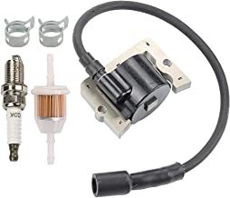 Coolwind 12 584 04-S 12-584-05-S Ignition Coil Module with Spark Plug Fuel Filter for Kohler CH11 CH12.5 CH13 CH14 CH15 CH410 CV11 CV12.5 CV13 CV14 CV15 CV430 CV460 CV461 CV460 CV490 CV491 CV492 CV493